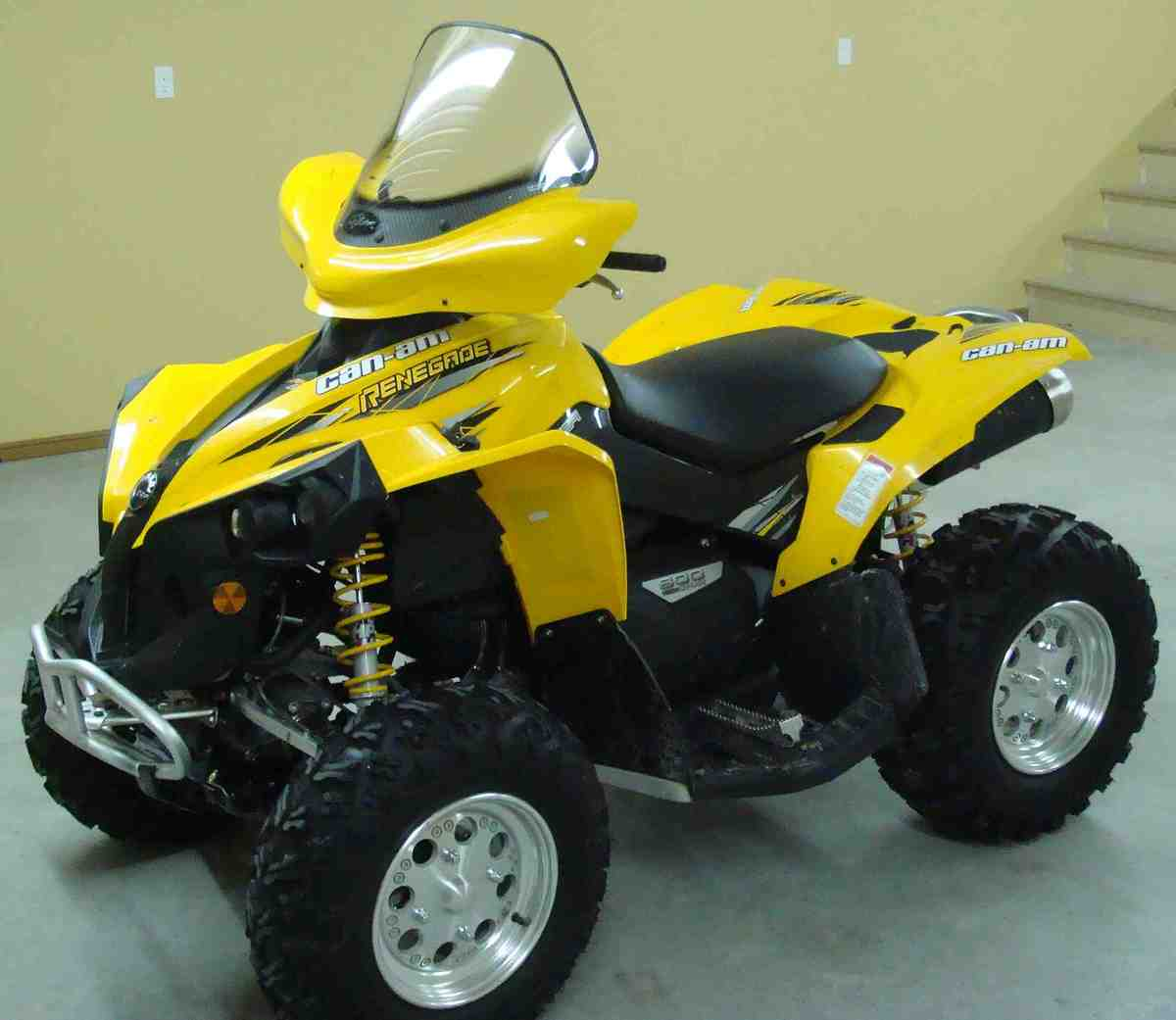 quad can am 500 renegade 2014