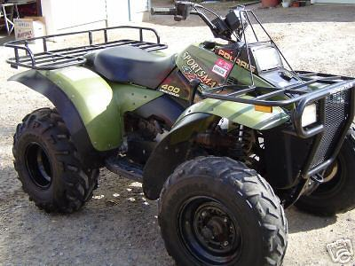 Polaris Sportsman 400 L 1997 Olive UN-94 Model ATV