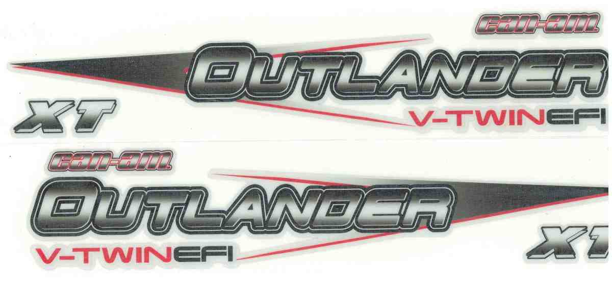Stickers Can Am Outlander